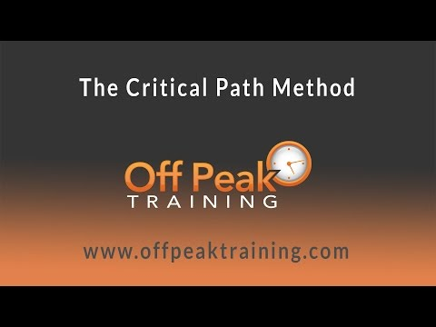 How To Perform Critical Path Method Cpm And Find Float