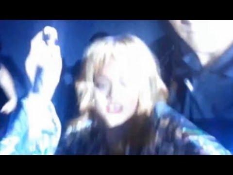 Rihanna Hits Fan With Microphone VS Miguel Kicks Fan Stagediving!