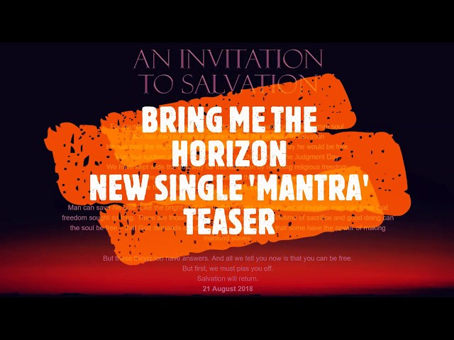 Bring me the horizons new album release date tour dates and bring me the horizons new album release date tour dates and everything we know so far nme stopboris Images
