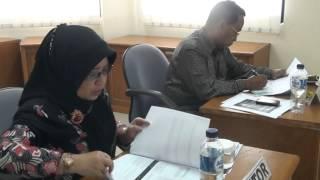 LAN : Presentasi Proposal Proyek Perubahan Haris Faozan Peserta Diklatpim Tk II