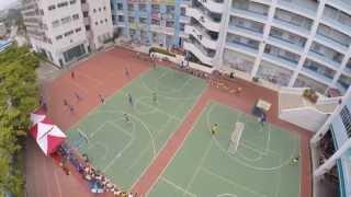 流浪足球隊到訪郭一葦中學活動花絮