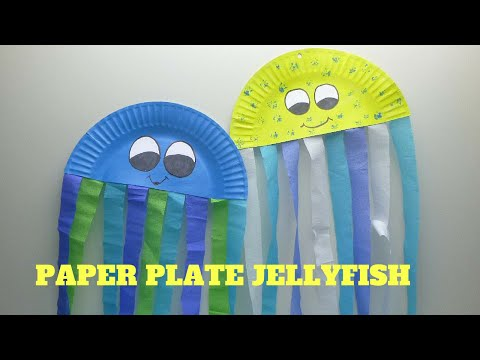 How To Make A Paper Plate Jellyfish