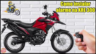 Instalação de alarme Duoblock na moto Honda XRE 300