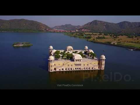 Jal Mahal Jaipur Drone Video