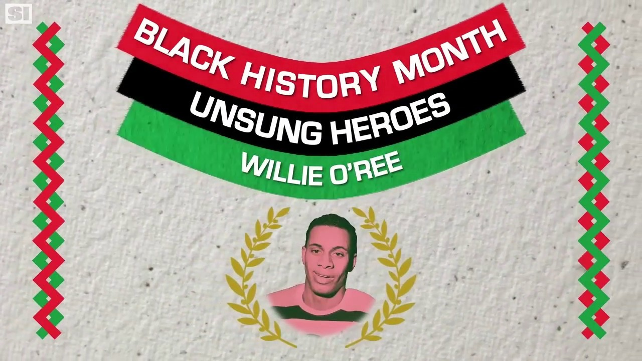 Willie O'Ree is the Jackie Robinson of Hockey | Black History Month