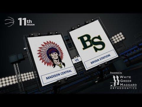 Boys 11th Region - Madison Central vs Bryan Station