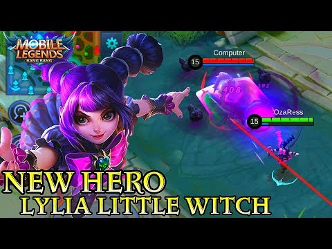 New Hero Lylia Little Witch - Mobile Legends Bang Bang