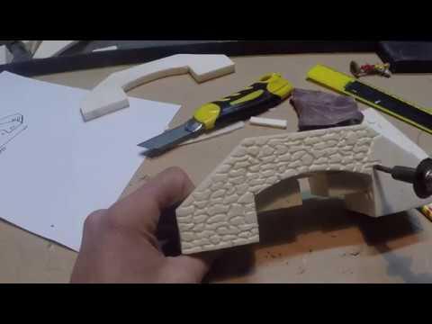 Tutorial come costruire un ponte per presepe - YouTube