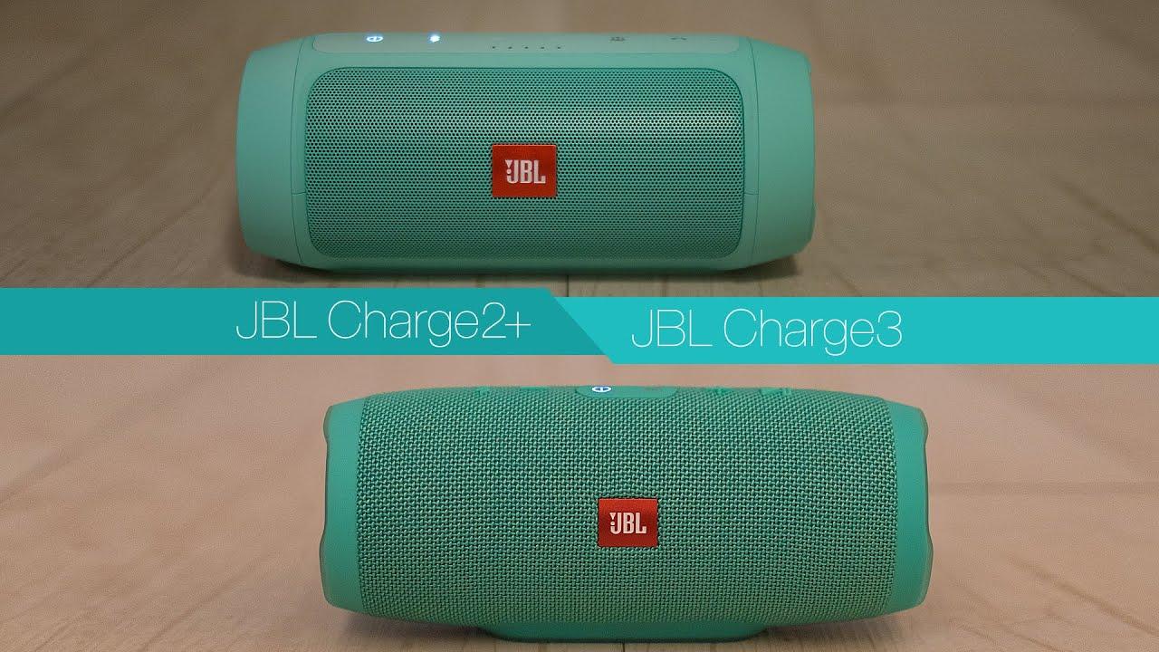 Jbl Charge 2 Plus Vs Jbl Charge 3 Youtube