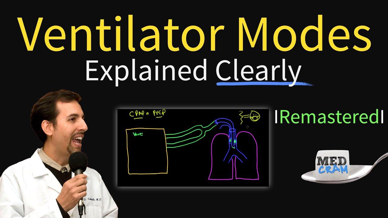 Ventilator Modes Explained! PEEP, CPAP, Pressure vs. Volume