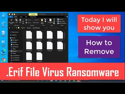 Download Erif File Virus [.Erif] Ransomware Removal + Recover .erif Files
