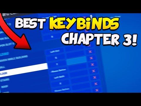 Best Fortnite KEYBINDS For FORTNITE Chapter 2 Season 3 👾(Pro Player Keybinds!)