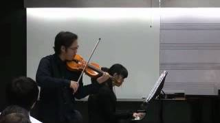 Violin  Sonata  No. 8 in  G  major : Allegro assai  / L.V. Beethoven ( 1770 - 1827)