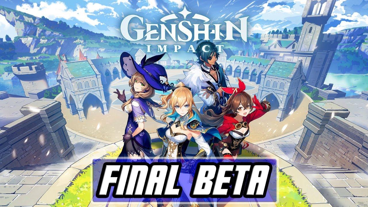 Genshin Impact Beta Ouverte
