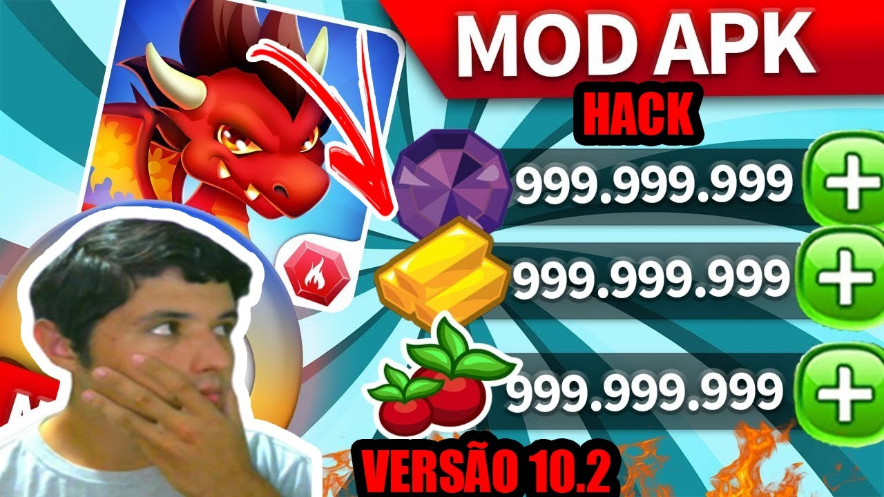 INACREDITÁVEL!!!! Dragon City Hack 10.2 Mod Apk (Unlimited Money And Gem) for Android DOWNLOAD