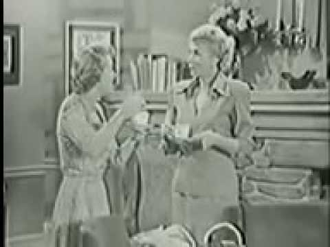 The George Burns and Gracie Allen Show - episode  Gracie & George Visiting Teenager  - part1