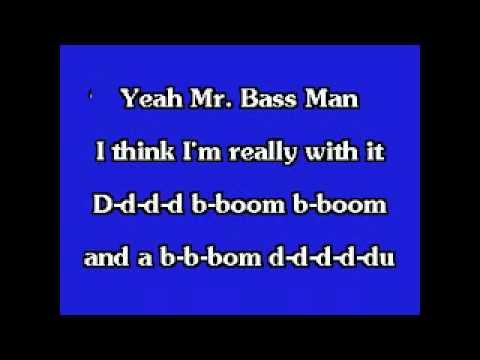 Cymbal, Johnny - Mr. Bass Man Karaoke