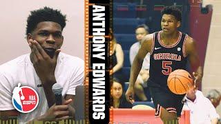 Georgia's Anthony Edwards breaks down film of his freshman season | 2020 NBA Draft Scouting
