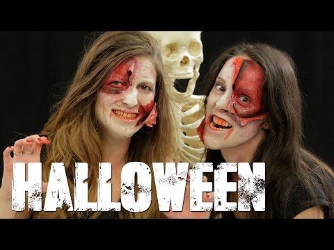 Halloween - Maquíllate como un zombie - Beauty Planet y Silvia Quirós
