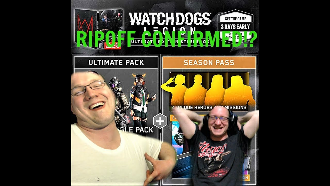 Do Not Buy This Trash Watchdogs Legion Ultimate Steelbook Edition Breakdown And Review Youtube