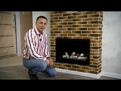 Установка биокамина в квартире - 2 \\ Встроенный камин 730S \\ Фабрика Lux Fire