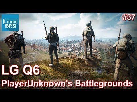 Gameplay Android - PlayerUnknown's Battlegrounds - LG Q6 - Só de CAMPER