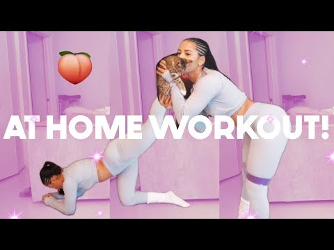 AT HOME WORKOUT! | Katya Elise Henry