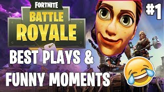 NEW FORTNITE BATTLE ROYAL AMAZING MOMENTS COMPILATION