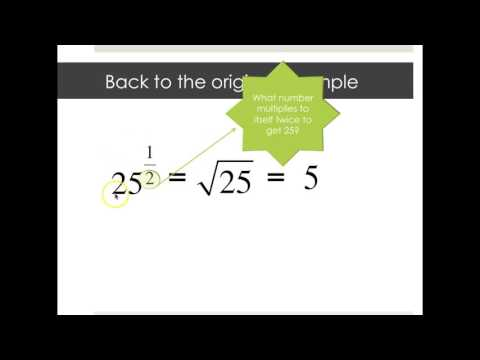 An Introduction to Rational Exponents