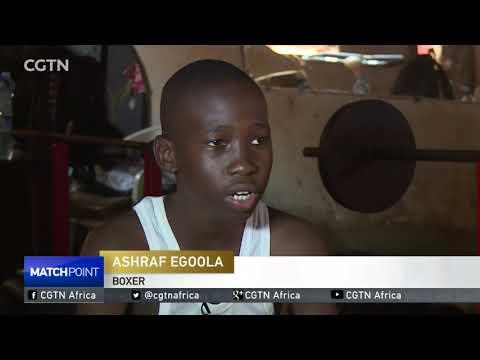 Uganda boxing champion hopes lying on 13 year old Ashraf
