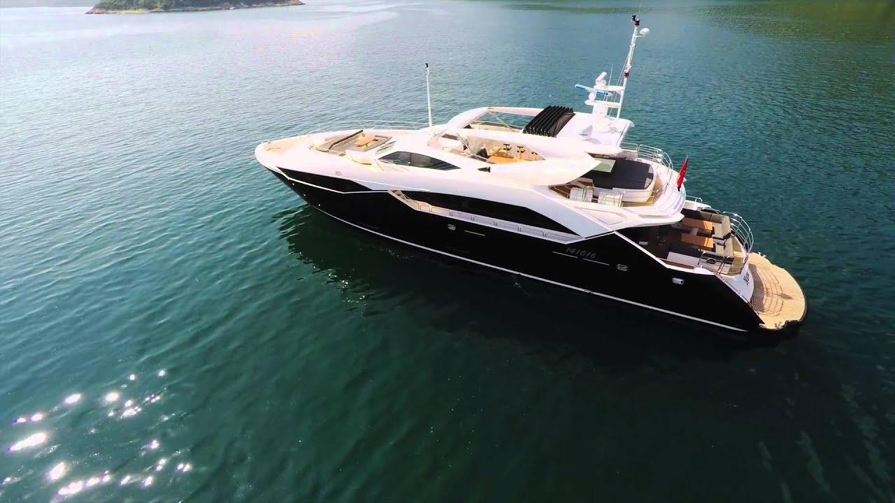 Sunseeker 115 Sport Yacht Blackfish Youtube