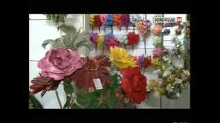 Смотреть видео искусственные цветы