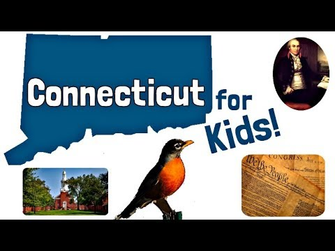 Connecticut For Kids | US States Learning Video