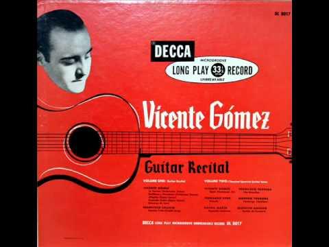 Vicente Gomez, 1952: Flamenco Guitar Recital (Part 2) - Rare Decca Vinyl LP