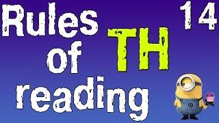 Английский для начинающих. Правила чтения в английском языке. Сочетание букв TH. (часть 14)