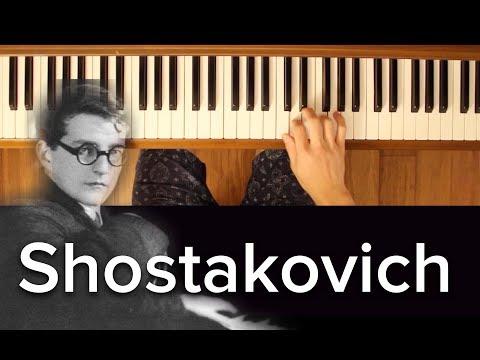 Sentimental Waltz (Shostakovich) [Early Intermediate Classical Piano Tutorial]