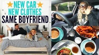 NEW CAR | NEW CLOTHES | Day In The Life With Kurt + Ninja Workout