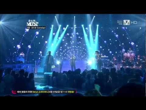 [Live] LeeSSang (리쌍) - Someday (feat. Yoon Do Hyun of YB) [120602]