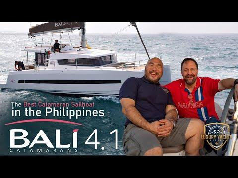 Luxury Yachts Manila : The Bali Catamaran 4.1 Yacht
