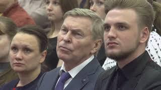 Смотреть видео Мэр Москвы Сергей Семёнович Собянин посетил РУДН онлайн