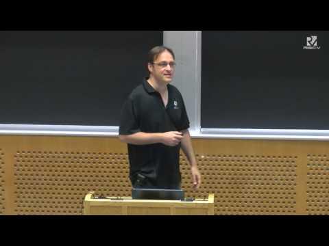 Tuesday @ 0900   RISC V Interrupts   Krste Asanović, UC Berkeley & SiFive Inc