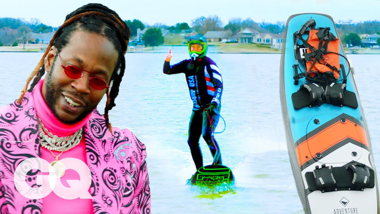 2 Chainz Checks Out an $11.4K Motorized Surf Board | Most Expensivest  & VICE TV