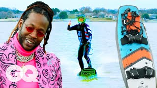 2 Chainz Checks Out an $11.4K Motorized Surfboard | Most Expensivest | GQ & VICE TV