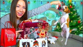Новогодние Игрушки для Собак Покупки из зоомагазина Обзор и Реакция | Elli Di Pets