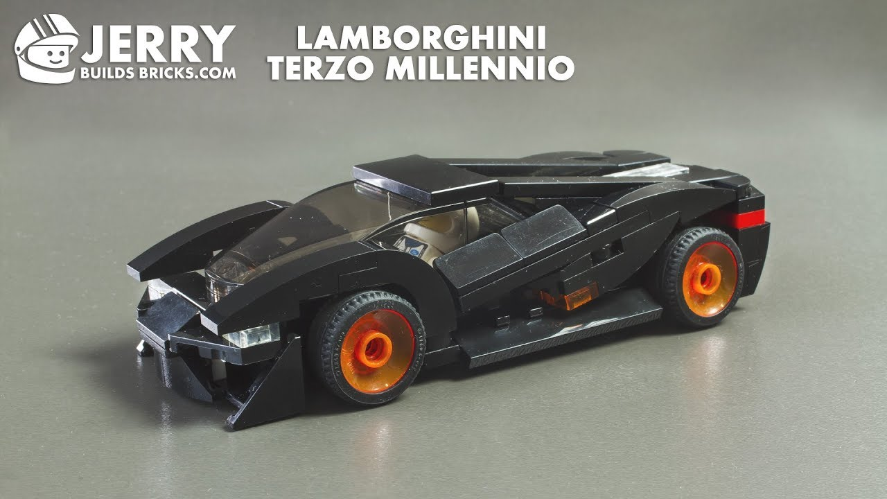 Lego Lamborghini Terzo Millennio Instructions Moc 75 Youtube