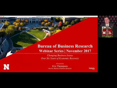 Nebraska BBR Webinar: Changing Business Issues Over the Economic Recovery