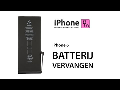 Iphone  Batterij Vervangen Youtube