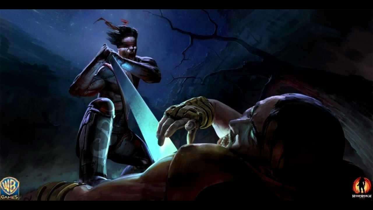 Mortal Kombat 9 2011 Kenshi Render Concept Art Hd