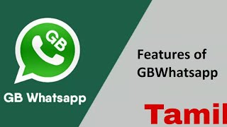 GB WhatsApp Features In [Tamil] ,tricks And Tips