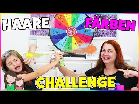 Haare färben mit GLÜCKSRAD 🎨  Mystery Wheel CHALLENGE - Alles Ava